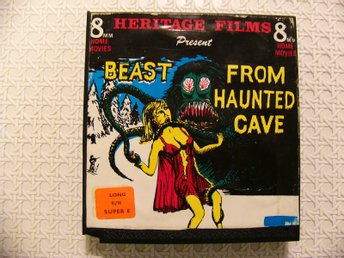 Beast From Haunted Cave-Heritage Films-Super 8