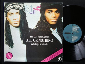MILLI VANILLI (M-) / All Or Nothing - The U.S. Remix Album / A TOP COPY!!