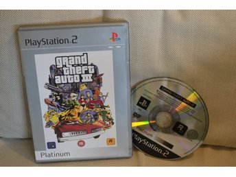 Grand Theft Auto III 3 PS2 Playstation 2 OK Skick