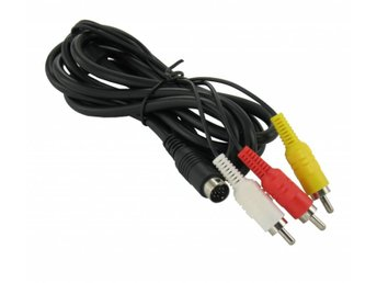 Dolphix AV Cable for Sega Mega Drive 2 and 3 -