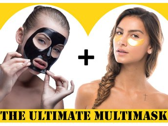NEW Multimask MONDSUB eye mask + BLACKHEAD KILLER ansikte kropp -    värd 500 Kr