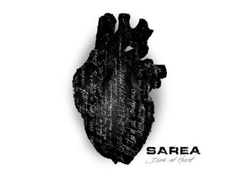 Sarea ‎–Black At Heart cd S/S 2017 metalcore from Norrköping