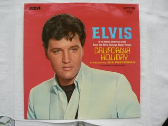 LP : Elvis Presley - California Holiday Film LP  RCA Vicktor 461 026  (1974) Ny