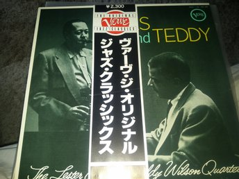 Lester Young & Teddy Wilson - Pres and Teddy JP-pres med Obi NM/NM