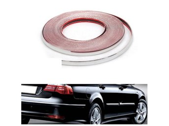 20mmX15m Chrome Universal Car Decor Trim Scratch Resistan...