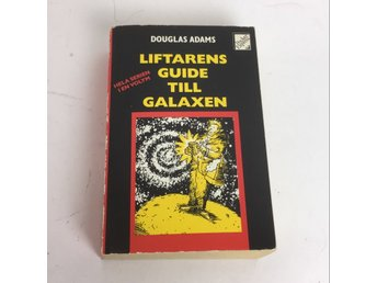 Bok, Liftarens guide till galaxen, Douglas Adams, Pocket