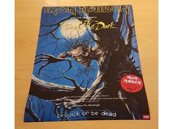 IRON MAIDEN FEAR OF THE DARK 1992 POSTER