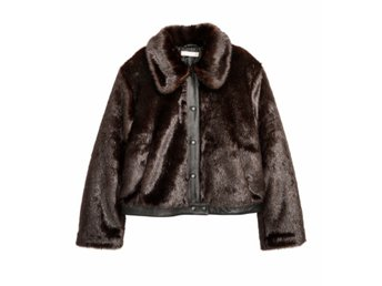 skor för billiga låga priser specialavsnitt H&M Trend Fuskpäls Jacka Faux Fur NY 36 (365869425) ᐈ Köp på Tradera
