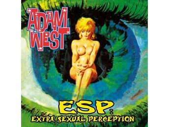 Adam West - ESP: Extra Sexual Perception - CD NY - FRI FRAKT