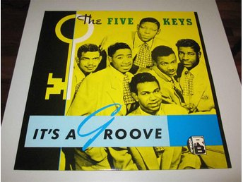 The Five Keys – It's A Groove Charly R&B – CRB 1040