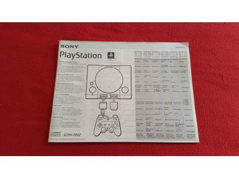 BASENHET MANUAL till Sony Playstation 1