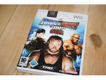 WWF SMACKDOWN VS RAW 2008 WII/WIIU
