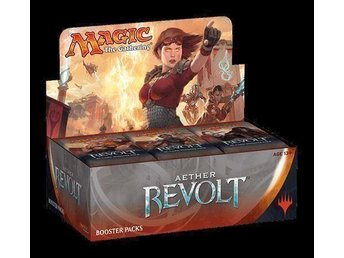 Magic the Gathering Aether Revolt, Booster Display.