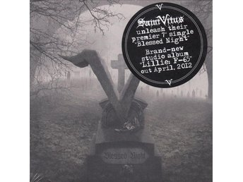 "SAINT VITUS-Ny LTD 7"" Nr 707/1500-Blessed Night-Doom Metal"