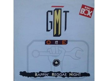 "G.M.T. One title* Rappin' Reggae Night* Euro House 12"" Swe"