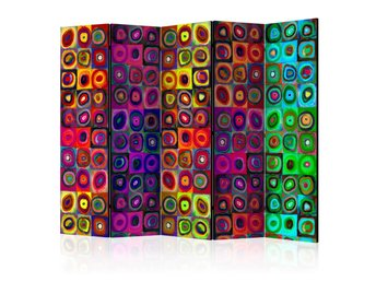 Rumsavdelare - Colorful Abstract Art II Room Dividers 225x17