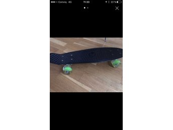 Penny board, skateboard