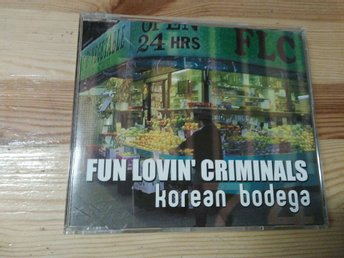 Fun Lovin' Criminals - Korean Bodega, Promo, CD