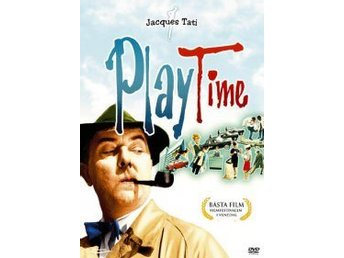 Play Time-av Jacques Tati med Jacques Tati och Barbara Dennek.