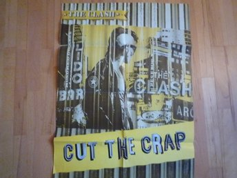 The Clash-Cut the Crap Stor promotion poster