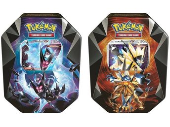 Pokemon Tin Dawn Wings Necrozma GX