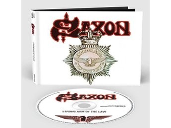 Saxon -Strong arm of the law digibook cd S/S 2018 w/9 bonus