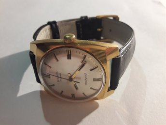 "Excellent Soviet (USSR) watch ""SEKONDA"" from brand Poljot.Made in USSR (1970's.)"