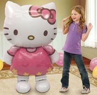 Hello kitty ballong 110 cm