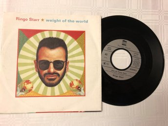 Ringo Starr 1992 weight of the world + 1 Beatles fint ex