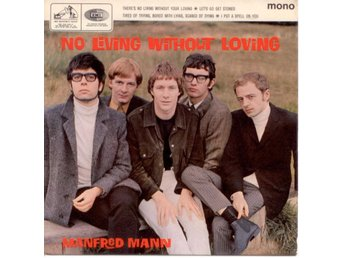 MANFRED MANN - No Living Without Loving  EP  UK