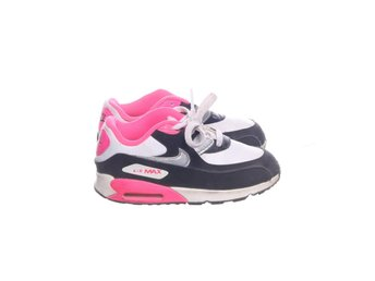 hot sale online aa5d4 ab8de Nike, Sneakers, Strl 26, Air Max 90 2007, VitSvartRosa, Skinn