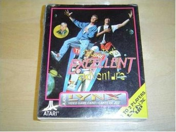 BILL & TEDS EXCELLENT ADVANTURE ATARI LYNX *NYTT*