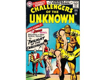 Challangers of the Unknown nr 48 1966 / VG/FN / bra skick