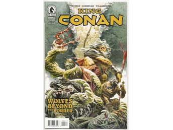 King Conan: Wolves Beyond The Border # 4 NM Ny Import