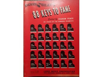88 Keys to Fame - 30 solos by 30 Famous Pianista 1943