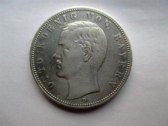 Bavaria, 5 mark, 1904 Otto. - Geraardsbergen - Bavaria, 5 mark, 1904 Otto. - Geraardsbergen