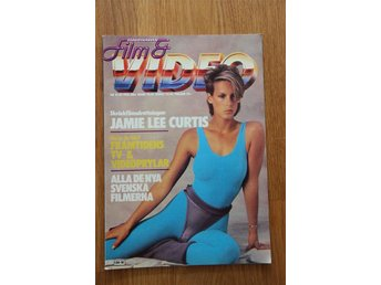 Film & video, skandinavian film och video nr 10, 1985! Jamie lee curtis!