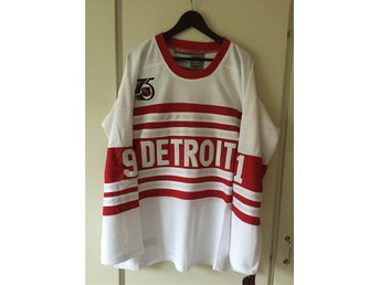 NHL matchtröja Sergei Fedorov Deroit Red Wings 52/XL