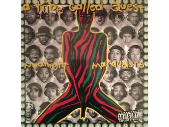 A TRIBE CALLED QUEST - MIDNIGHT MARAUDERS NY LP