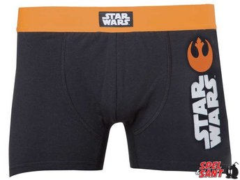 Star Wars Rebel Alliance Boxershorts Svart (X-Large)