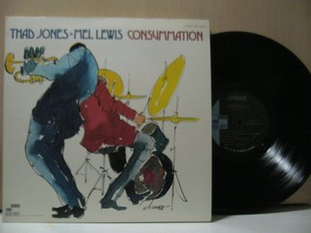 THAD JONES MEL LEWIS ORCHESTRA  CONSUMMATION  BLUE NOTE 1970