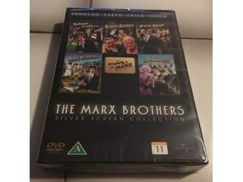 The Marx Brothers - Silver Screen Collection (Ny/Inplastad)