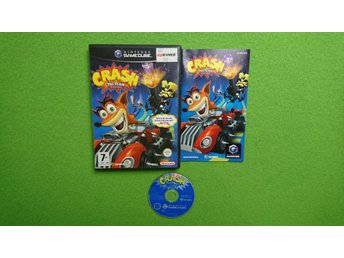 Crash Tag Team Racing KOMPLETT Gamecube Nintendo Game Cube