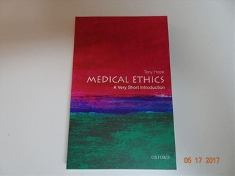 Bok : Medical Ethics: A Very Short Introduction