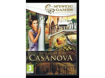 PC-spel - Mystic Games - The secret of Casanova