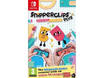 Snipperclips Plus Cut it out, together! (Bergsala UK4)