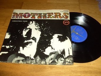 The Mother Of Invention Lp. Absolutely Free. Rare 1:a !!!!!