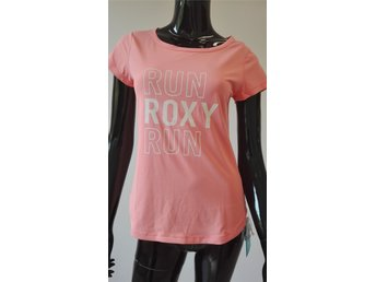 Ny ROXY Womens Apricot Color Short Sleeve T-shirt Top Size S