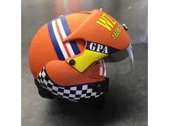 Mc hjälm GPA S Aircraftpilot orange (ORD.2795kr)