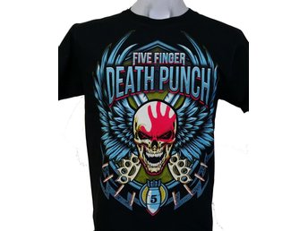 T-SHIRT: FIVE FINGER DEATH PUNCH  (Size L)